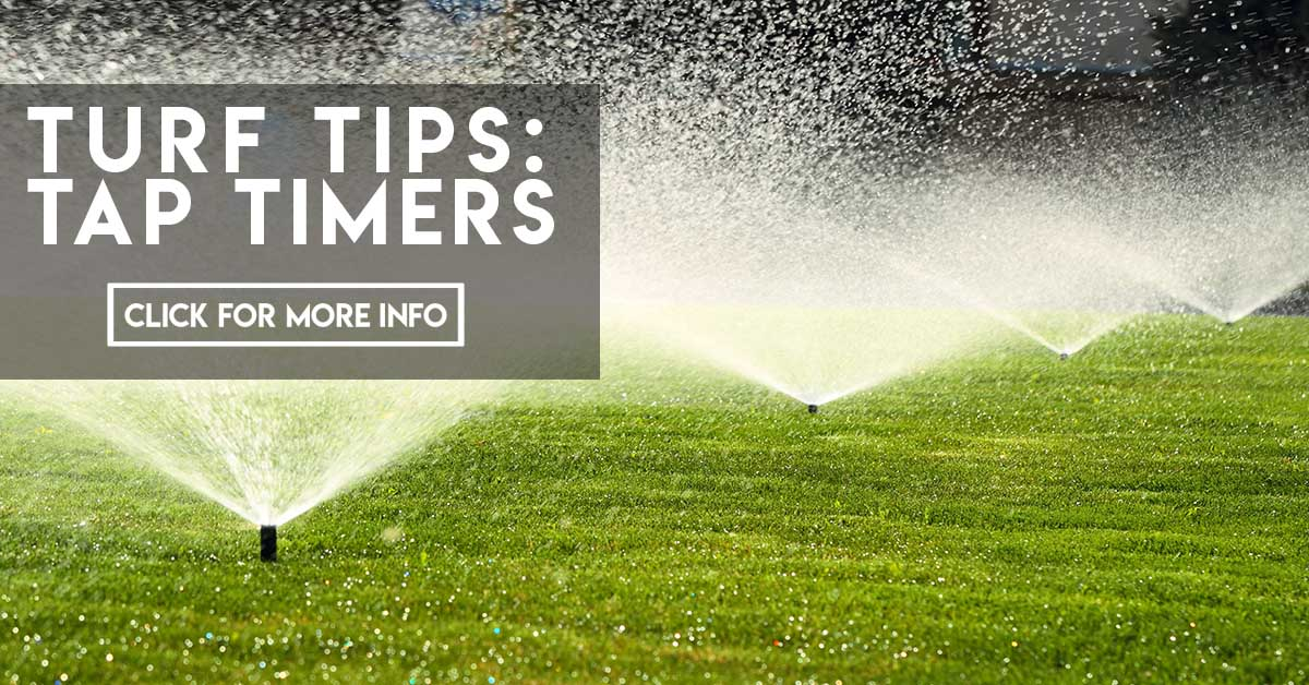 Turf Tips Tap timers