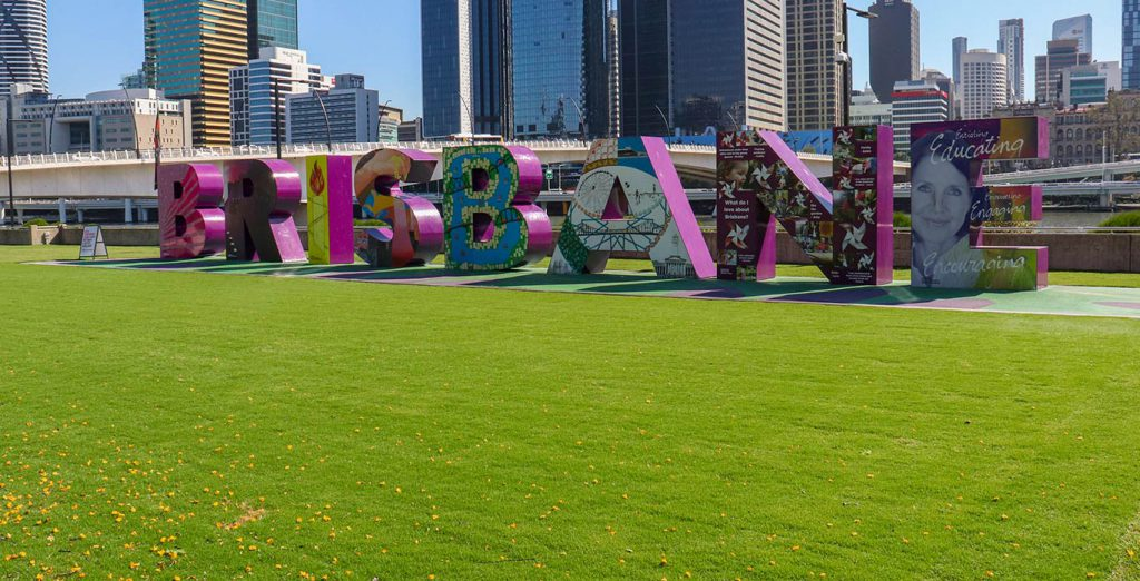 Brisbane Sign After