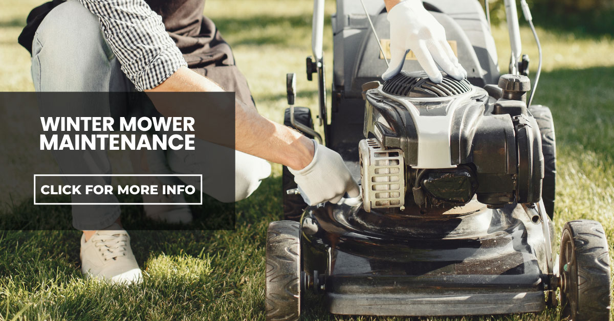 Servicing your mower during Winter